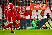 September 12th 2017, Munich, Germany, Champions League football, Bayern Munich versus Anderlecht; Thiago Alcantara of Bayern Munchen scores and celebrates