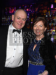 Patrick and Sarah Farrelly at the ABACAS Valentine Ball at the Westcourt Hotel. Photo:Colin Bell/pressphotos.ie