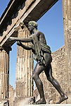 Apollo the archer statue, Pompeii, Italy