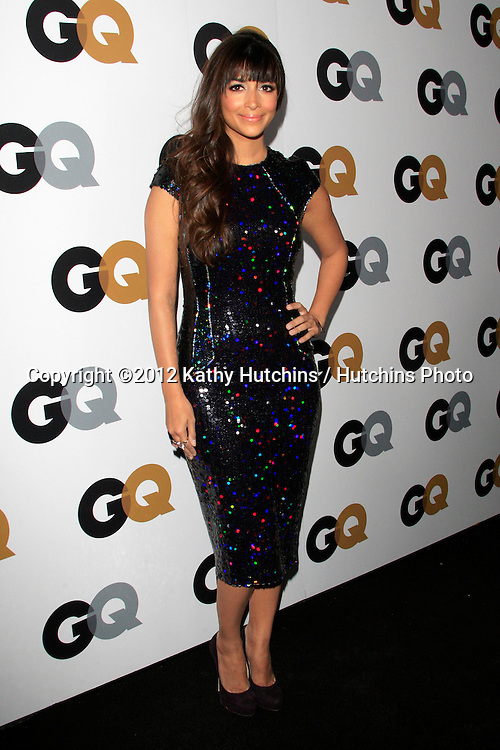 LOS ANGELES - NOV 13:  Hannah Simone arrives to the GQ Men Of The Year Party at Chateau Marmont on November 13, 2012 in Los Angeles, CA