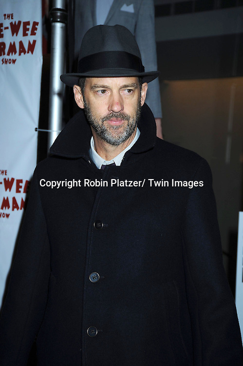 "Anthony Edwards attending The Opening Night of ""The Pee-Wee Herman Show"" on Broadway .on November 11, 2010 at The Stephen Sondheim Theatre in New York City."