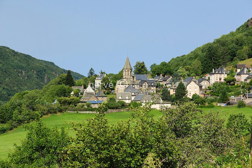 France, Cantal (15), vallée du Mars, Le Vaulmier // France, Cantal, Mars valley, le Vaulmier