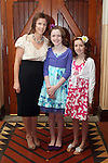 Éle, Blathnaid and Laoise Quinn at the confirmation in Termonfeckin Church...Photo NEWSFILE/Jenny Matthews.(Photo credit should read Jenny Matthews/NEWSFILE)....This Picture has been sent you under the condtions enclosed by:.Newsfile Ltd..The Studio,.Millmount Abbey,.Drogheda,.Co Meath..Ireland..Tel: +353(0)41-9871240.Fax: +353(0)41-9871260.GSM: +353(0)86-2500958.email: pictures@newsfile.ie.www.newsfile.ie.FTP: 193.120.102.198.
