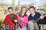 Pictured at the Fleadh by the feale at the Square, Abbeyfeale on Sunday.