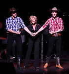 Kristin Chenoweth with Tyler Hanes & Will Taylor.performing in Kristin Chenoweth World Tour directed by Richard Jay Alexander at City Center in New York City on 6/02/2012
