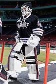 Dillon Pieri (Union - 31) - The Union College Dutchmen defeated the Harvard University Crimson 2-0 on Friday, January 13, 2012, at Fenway Park in Boston, Massachusetts.