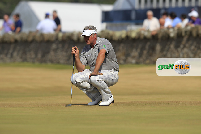 Darren CLARKE (NIR) during round 3 of  The 142th Open Championship Muirfield, Gullane, East Lothian, Scotland 20/7/2013<br /> Picture Eoin Clarke www.golffile.ie: