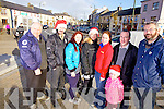 Getting ready for Christmas in Abbeyfeale was l-r: Christy Kelliher and Donal O'Sea(ADSAR), Breda O'Grady(Shakati), Mary Fitzgerald(Superbites), Mary Healy(Eurosaver), Kevin and Suin Kenneally (Kenneally Murphy Architects) and Jim O'Connor(The Gathering)