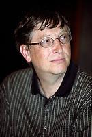 Bill Gates<br /> circa 2001<br /> (date exacte inconnue)<br /> <br /> PHOTO :  Agence Quebec Presse