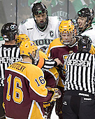 Ryan Potulny, Danny Irmen, Matt Smaby, Ryan Stoa, Mike Prpich - The University of Minnesota Golden Gophers defeated the University of North Dakota Fighting Sioux 4-3 on Friday, December 9, 2005, at Ralph Engelstad Arena in Grand Forks, North Dakota.