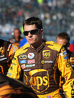 Apr 17, 2009; Avondale, AZ, USA; NASCAR Sprint Cup Series driver David Ragan during qualifying for the Subway Fresh Fit 500 at Phoenix International Raceway. Mandatory Credit: Mark J. Rebilas-
