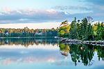Morning on Sullivan Harbor in Sullivan, Maine, USA