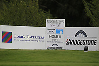 The 6th tee during Round 1 of the Bridgestone Challenge 2017 at the Luton Hoo Hotel Golf &amp; Spa, Luton, Bedfordshire, England. 07/09/2017<br /> Picture: Golffile | Thos Caffrey<br /> <br /> <br /> All photo usage must carry mandatory copyright credit     (&copy; Golffile | Thos Caffrey)