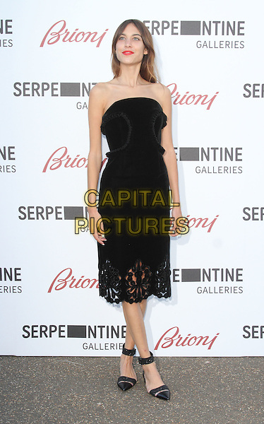 LONDON, UNITED KINGDOM - JULY 01: Alexa Chung attends the annual Serpentine Gallery Summer Party at The Serpentine Gallery on July 1, 2014 in London, England<br /> CAP/ROS<br /> &copy;Steve Ross/Capital Pictures
