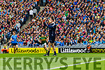 Kerry in action against Stephen Cluxton Dublin at the National League Final in Croke Park on Sunday.