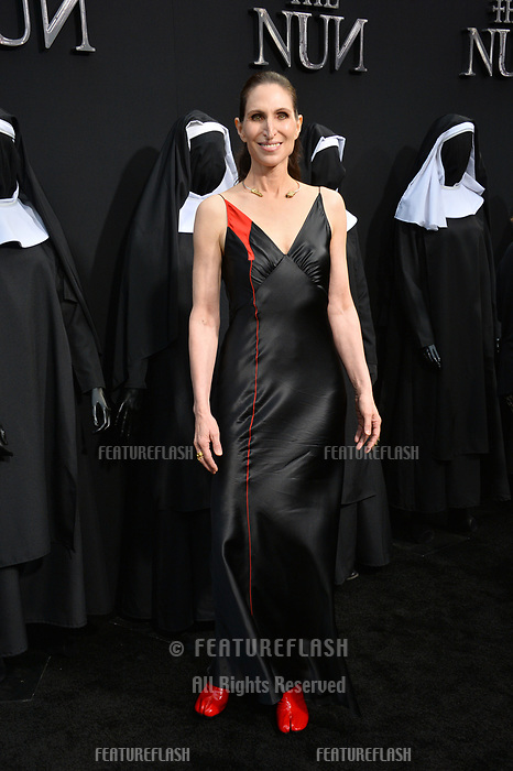 """LOS ANGELES, CA. September 04, 2018: Bonnie Aarons at the world premiere of """"The Nun"""" at the TCL Chinese Theatre, Hollywood."""