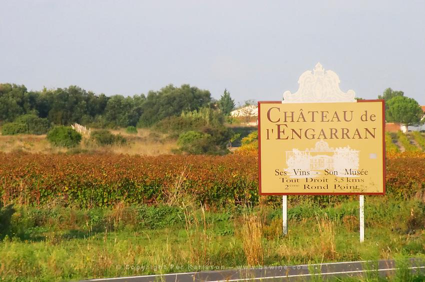 Chateau de l'Engarran, Laverune, Montpellier. Gres de Montpellier. Languedoc. France. Europe.