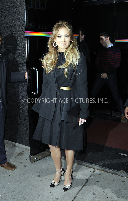 WWW.ACEPIXS.COM<br /> <br /> January 20 2015, New York City<br /> <br /> Actress and singer Jennifer Lopez made an appearance at 'The Wendy Williams Show' on January 20 2015 in New York City<br /> <br /> By Line: Curtis Means/ACE Pictures<br /> <br /> <br /> ACE Pictures, Inc.<br /> tel: 646 769 0430<br /> Email: info@acepixs.com<br /> www.acepixs.com