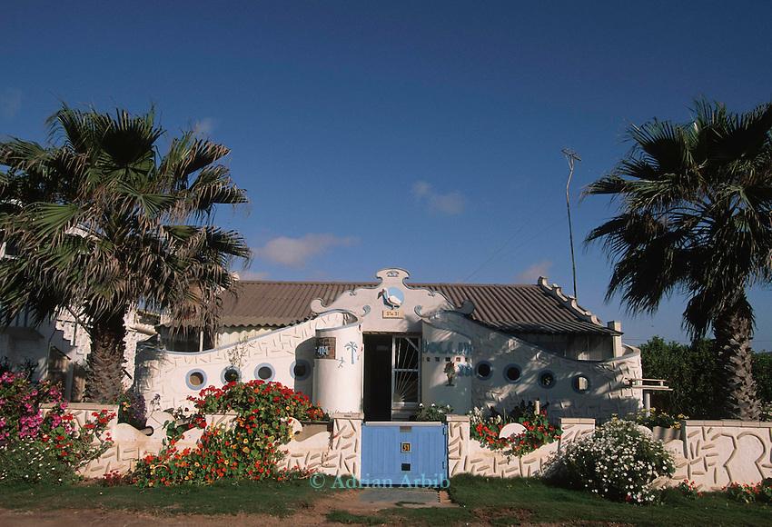 A house in Swakopmund, Namiba.