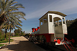 "Israel, Jezreel Valley. The ""Valley Train"" in Kishon park"