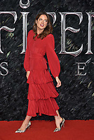 Binky Felstead<br /> 'Maleficent: Mistress of Evil'  UK film premiere at the BFI Imax Waterloo, London England on October 09, 2019.<br /> CAP/Phil Loftus<br /> ©Phil Loftus/Capital Pictures / MediaPunch ***North America Only****