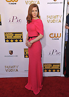 Amy Adams at the 19th Annual Critics' Choice Awards at The Barker Hangar, Santa Monica Airport.<br /> January 16, 2014  Santa Monica, CA<br /> Picture: Paul Smith / Featureflash