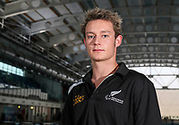 Chris Arbuthnott . Swimming New Zealand Gold Coast Commonweath Games Team Announcement, Owen G Glenn National Aquatic Centre, Auckland, New Zealand,Friday 22 December 2017. Photo: Simon Watts/www.bwmedia.co.nz