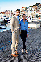 Mipcom Cannes 2016 - Billy Campbell Karine Vanasse - Photocall de Cardinal