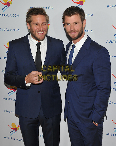 New York,NY-JANUARY 25: Curtis Stone, Chris Hemsworth attend the 'There's Nothing Like Australia' Campaign Launch at Celsius at Bryant Park on January 25, 2016 in New York City. <br /> CAP/MPI/STV<br /> &copy;STV/MPI/Capital Pictures
