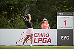 Golfer Amolkan Phalajivin of Thailand during the 2017 Hong Kong Ladies Open on June 9, 2017 in Hong Kong, China. Photo by Chris Wong / Power Sport Images