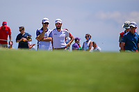 Troy Merritt (USA) looks over his putt on 11 during Thursday's round 1 of the 117th U.S. Open, at Erin Hills, Erin, Wisconsin. 6/15/2017.<br /> Picture: Golffile | Ken Murray<br /> <br /> <br /> All photo usage must carry mandatory copyright credit (&copy; Golffile | Ken Murray)