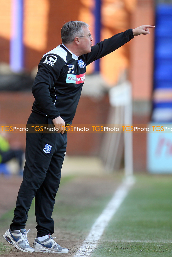 Tranmere Rovers manager Micky Adams - Tranmere Rovers vs Dagenham and Redbridge - SkyBet League Two football at the Prenton Park Stadium on  07/03/15 - MANDATORY CREDIT: Dave Simpson/TGSPHOTO - Self billing applies where appropriate - 0845 094 6026 - contact@tgsphoto.co.uk - NO UNPAID USE