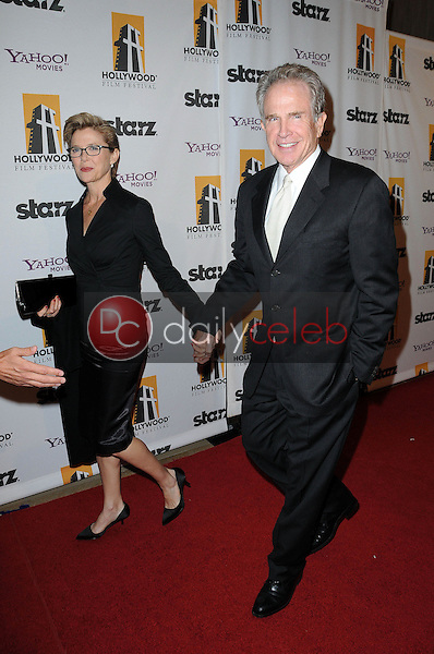 Annette Bening and Warren Beatty<br /> at the 14th Annual Hollywood Awards Gala, Beverly Hilton Hotel, Beverly Hills, CA. 10-25-10<br /> David Edwards/Dailyceleb.com 818-249-4998