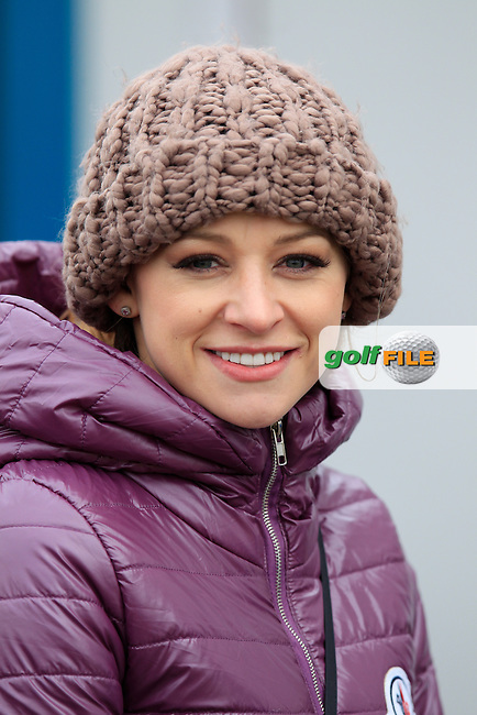 Cassandra McClure, John Parry's (ENG) girl, during Saturday's Round 3 of the 2015 Dubai Duty Free Irish Open, Royal County Down Golf Club, Newcastle Co Down, Northern Ireland 5/30/2015<br /> Picture Eoin Clarke, www.golffile.ie