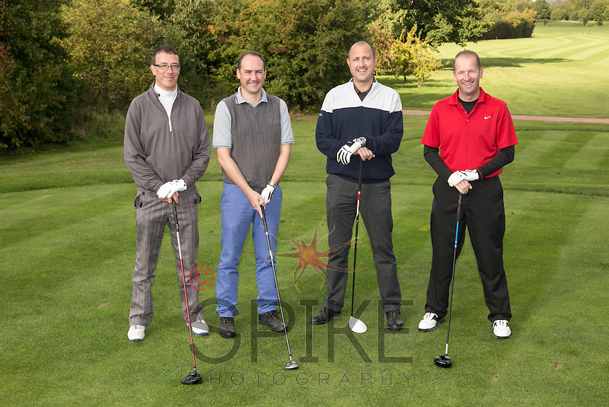 UHY Hacker Young line up for the camera, left to right are Rob Prosser, James Simmonds, Paul Rodgers and Simon Browning
