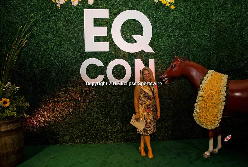 SARATOGA SPRINGS, NY - AUG 13: Photo op at the Inaugural Equestricon Convention on August 13, 2017 in Saratoga Springs, New York. photo by Eclipse Sportswire/Equestricon