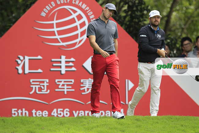 Rory McIlroy (NIR) walking off the 5th tee during the final round of the WGC-HSBC Champions, Sheshan International GC, Shanghai, China PR.  30/10/2016<br /> Picture: Golffile | Fran Caffrey<br /> <br /> <br /> All photo usage must carry mandatory copyright credit (&copy; Golffile | Fran Caffrey)
