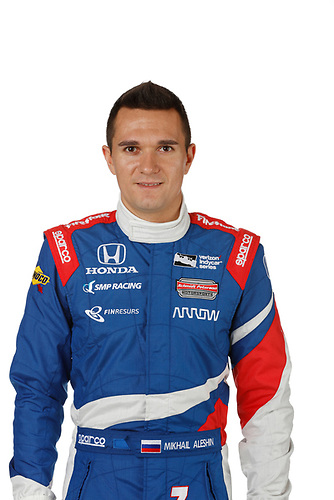 2 February, 2016, Indianapolis, Indiana USA<br /> Mikhail Aleshin<br /> &copy;2016, Michael L. Levitt<br /> LAT Photo USA