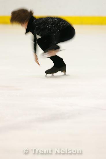 Trent Nelson  |  The Salt Lake Tribune.Balazs Nagy competes at the 2011 U.S. Junior Figure Skating Championships in Salt Lake City Thursday, December 16, 2010.