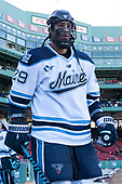 Daniel Perez (Maine - 29) - The University of Maine Black Bears defeated the University of Connecticut Huskies 4-0 at Fenway Park on Saturday, January 14, 2017, in Boston, Massachusetts.