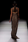 01.09.2012. Models walk the runway in the Juanjo Oliva fashion show during the Mercedes-Benz Fashion Week Madrid Spring/Summer 2013 at Ifema. (Alterphotos/Marta Gonzalez)