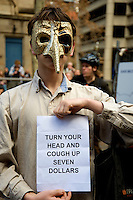 Stop Abbot, Save Medicare Rally, Sydney 31.05.14