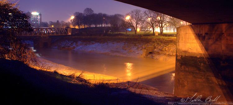 Across the River Avon towards Bedminster, Bristol