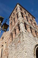 Europe/France/Midi-Pyrénées/46/Lot/ Cahors: Eglise Saint-Barthélemy avec son clocher-porche