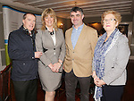 Attending the  Entrepreneur of the Year 2016 in the  Limerick Final of the National Enterprise Awards at a ceremony in the Dunraven Arms Hotel, Adare were Cllr Gerald Mitchell, Deputy Mayor, Limerick City &amp; County,  Aileen Ryan, AIB, Cllr Richard O' Donoghue, Cathaoirleach Municipal DistrictAdare-Rayhkeale Rathkeale and  Cllr Brigid Teefy. <br /> Photograph Liam Burke/Press