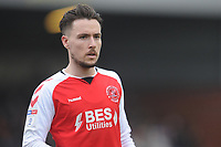 Fleetwood Town's Barrie McKay<br /> <br /> Photographer Kevin Barnes/CameraSport<br /> <br /> The EFL Sky Bet League One - Fleetwood Town v Blackpool - Saturday 7th March 2020 - Highbury Stadium - Fleetwood<br /> <br /> World Copyright © 2020 CameraSport. All rights reserved. 43 Linden Ave. Countesthorpe. Leicester. England. LE8 5PG - Tel: +44 (0) 116 277 4147 - admin@camerasport.com - www.camerasport.com
