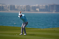 Sami Valimaki (FIN) on the 9th during Round 3 of the Oman Open 2020 at the Al Mouj Golf Club, Muscat, Oman . 29/02/2020<br /> Picture: Golffile   Thos Caffrey<br /> <br /> <br /> All photo usage must carry mandatory copyright credit (© Golffile   Thos Caffrey)