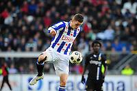 VOETBAL: HEERENVEEN: Abe Lenstra Stadion, SC Heerenveen - Vitesse, 21-01-2012, Eindstand 1-1, Jeffrey Gouweleeuw (#3), ©foto Martin de Jong