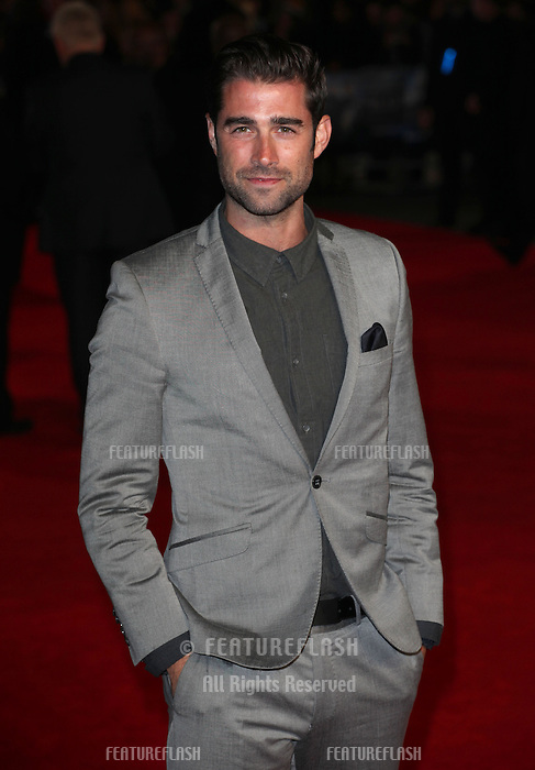 Matt Johnson arriving for the UK Premiere of Jack Ryan, at Vue Leicester Square, London. 20/01/2014 Picture by: Alexandra Glen / Featureflash