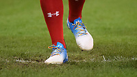 Wales' Ross Moriarity wears the Rainbow laces <br /> <br /> Photographer Ian Cook/CameraSport<br /> <br /> Under Armour Series Autumn Internationals - Wales v South Africa - Saturday 24th November 2018 - Principality Stadium - Cardiff<br /> <br /> World Copyright &copy; 2018 CameraSport. All rights reserved. 43 Linden Ave. Countesthorpe. Leicester. England. LE8 5PG - Tel: +44 (0) 116 277 4147 - admin@camerasport.com - www.camerasport.com